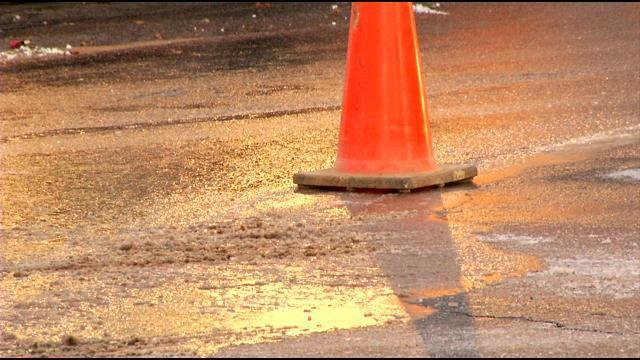 Roanoke water main break could mess with morning commutes
