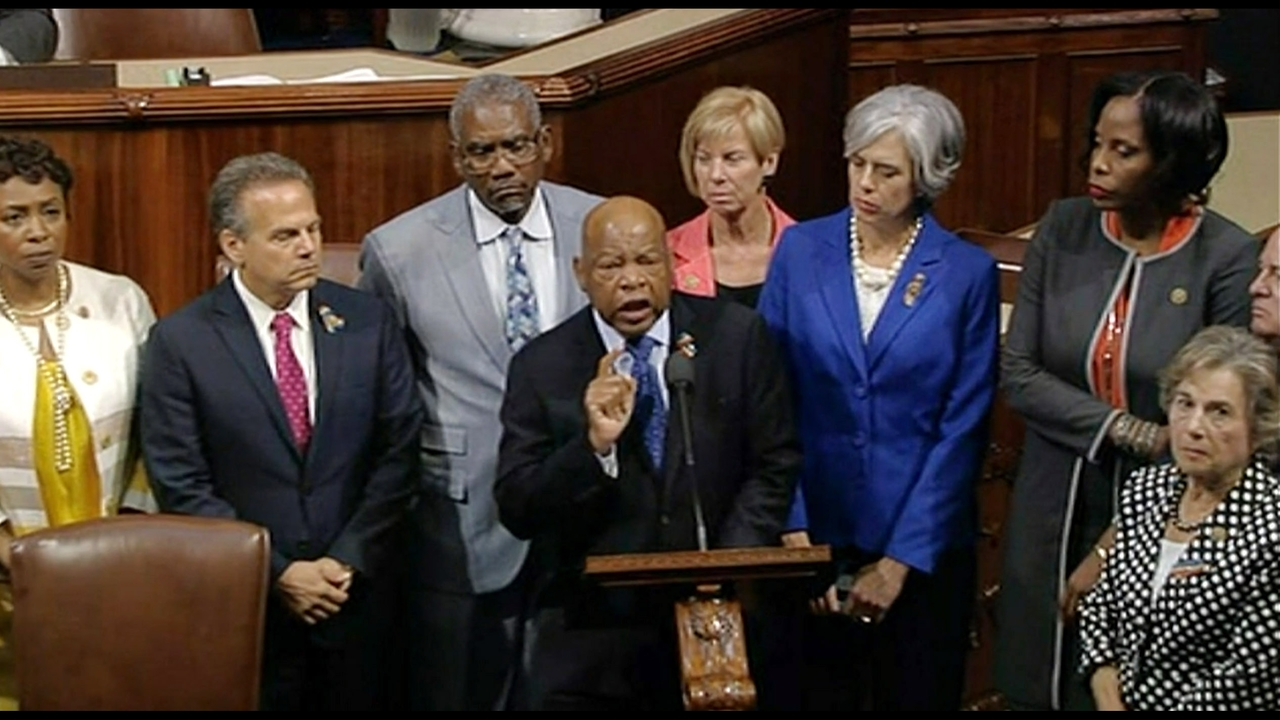 House Dems Republicans Nearly Come To Blows During Sit In