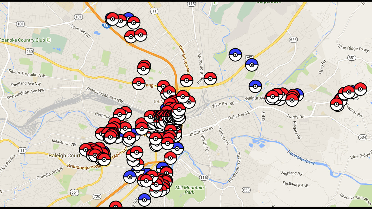 Pokemon Go Explained And A Map Of Gyms And Pokestops