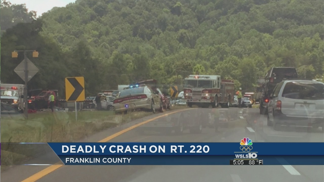 Franklin County man dead after two-car crash on US 220
