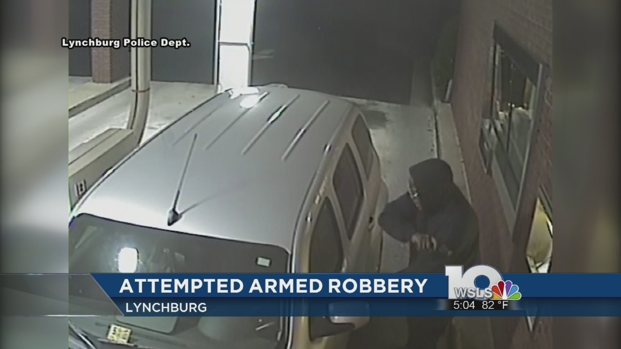 Lynchburg police investigating attempted armed robbery