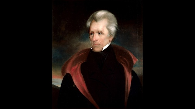 White House portrait of Andrew Jackson, the seventh president of the United States. (Public Domain)_186907