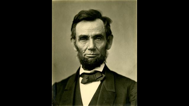 A photograph of President Abraham Lincoln circa 1863 (Public Domain)_188230