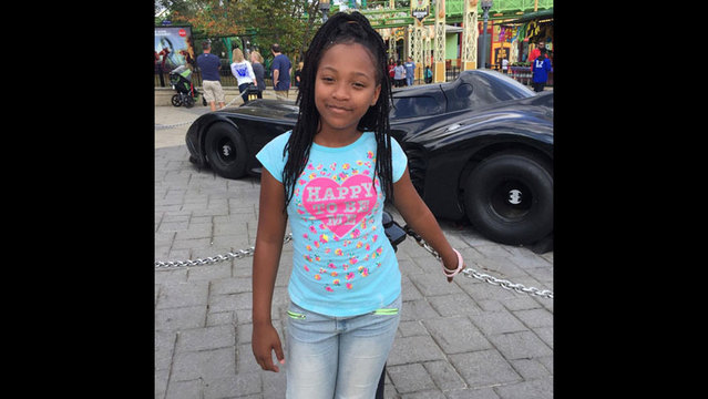 Zyanna Harris, 10, a fourth grader at Woodmore Elementary School in Chattanooga, was killed in a school bus crash on Nov. 21, 2016. (The Harris_188806