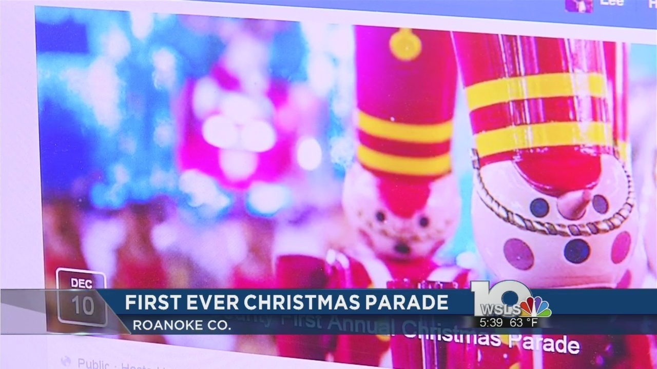 Roanoke County gearing up for first ever Christmas parade