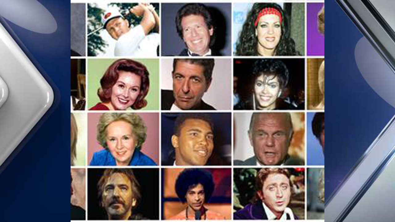 celebrity deaths in 2016 some of the many famous figures we celebrity deaths in 2016 some of the many famous figures we