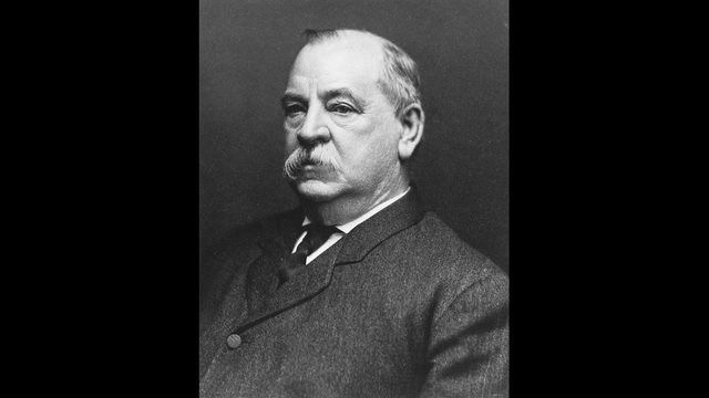 Grover Cleveland, the 22nd and 24th President of the United States. (Public Domain)_191644