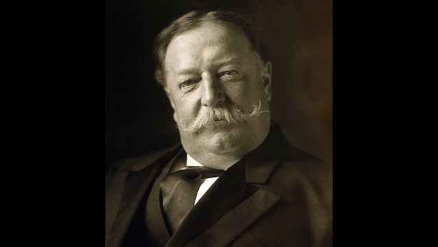 William Howard Taft, the 27th President of the United States. (Public Domain)_191653
