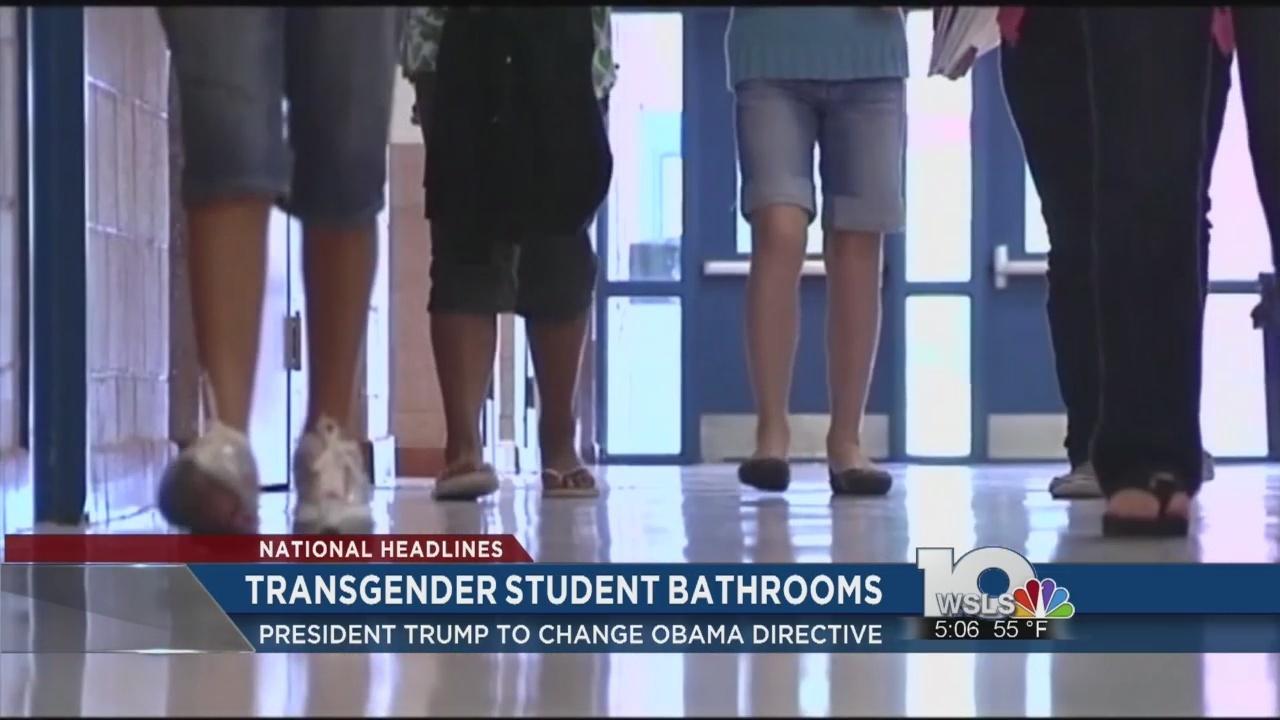 Official Trump To Revoke Transgender Bathroom Guidance