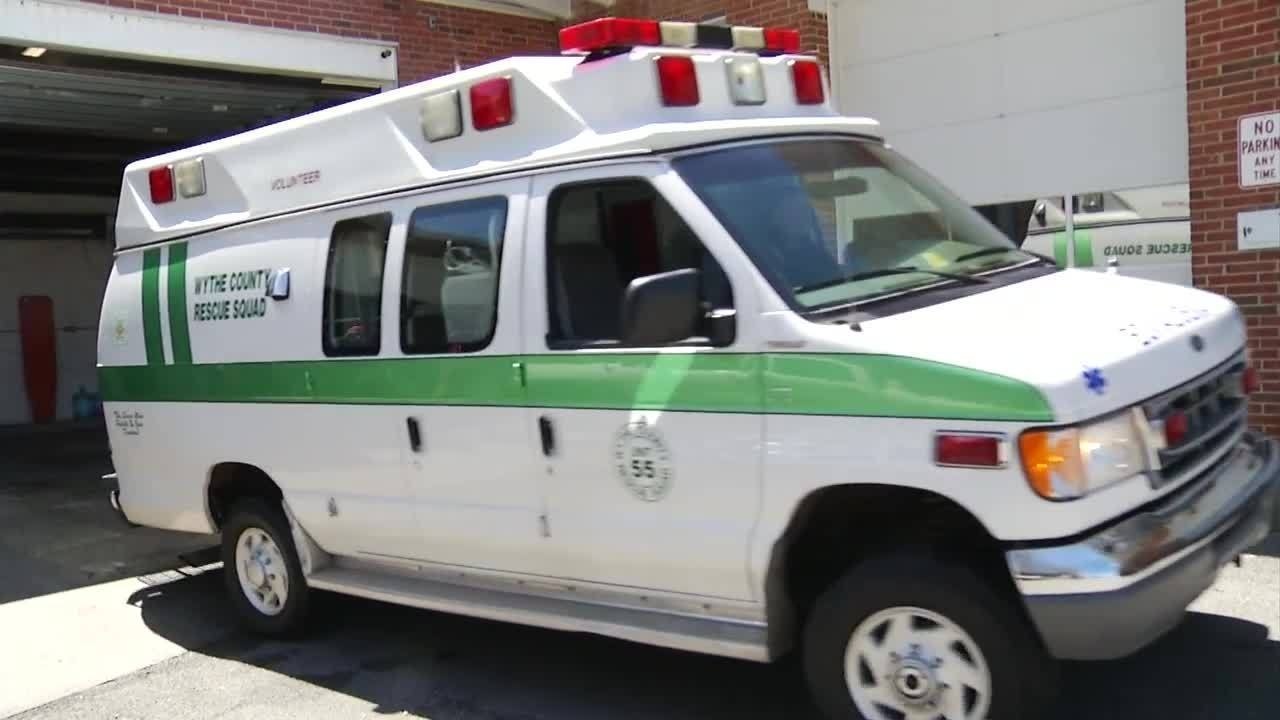 Wythe County Rescue Squad Receives Grants For New Ambulance