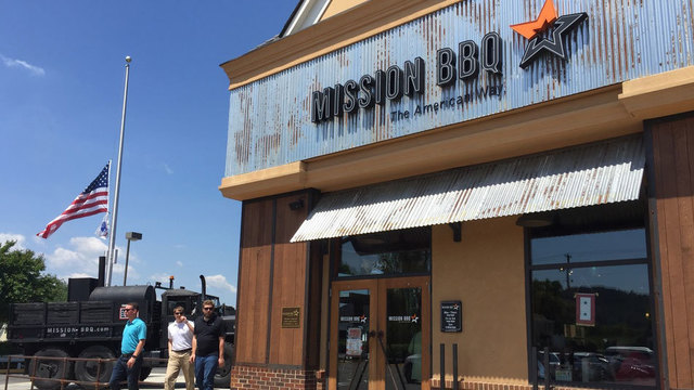 Mission BBQ to offer free sandwiches, cake for veterans, active duty…