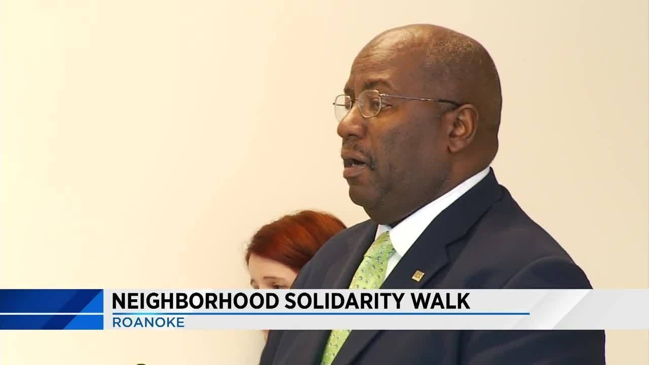 Lea, council to walk streets of Roanoke promoting safety