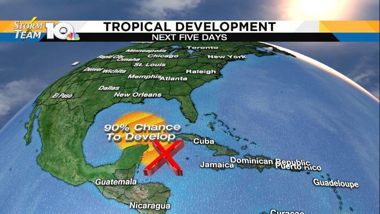 Tropical development expected in Gulf of Mexico - CBS46 News
