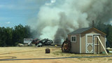 Crews extinguish fire at Danville recycling facility