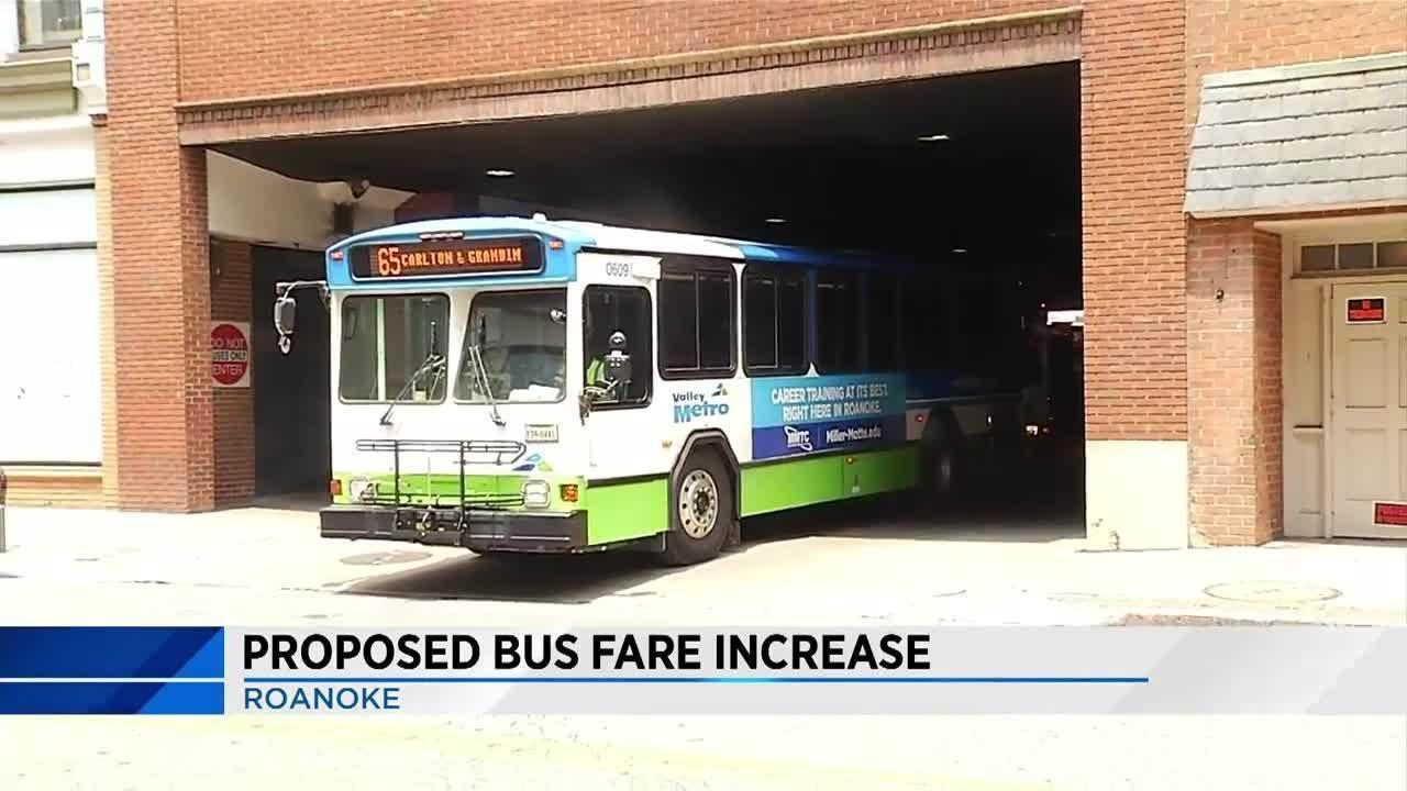 Roanoke may increase bus ticket price