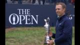 Jordan Spieth wins British Open for third career major championship.