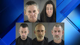 Five arrested, charged with multiple Bedford County thefts