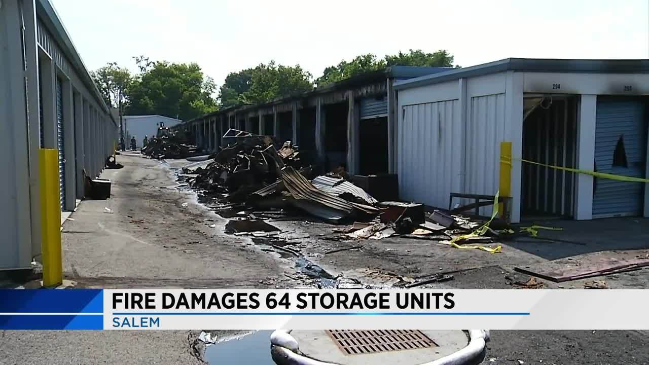 Fire damages 64 storage units20170801224418_10211225_ver1.0_1280_720.jpg & Fire damages 64 storage units