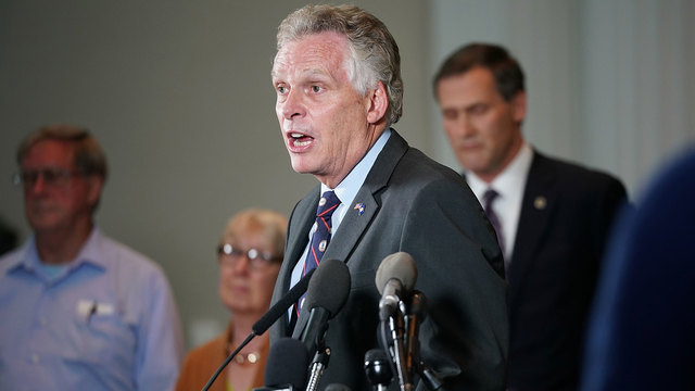 Ex-Virginia Gov. McAuliffe to rule out 2020 run