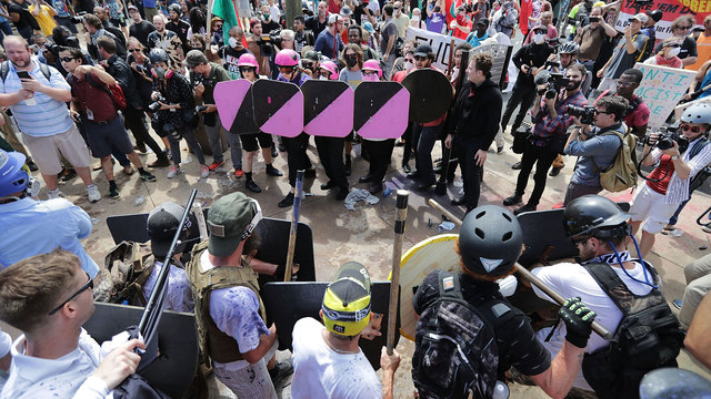 Three men sentenced for assaulting protesters before 2017 Charlottesville rally