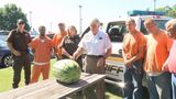 Martinsville work crew inmates enjoying fruits of their labor thanks to&hellip&#x3b;