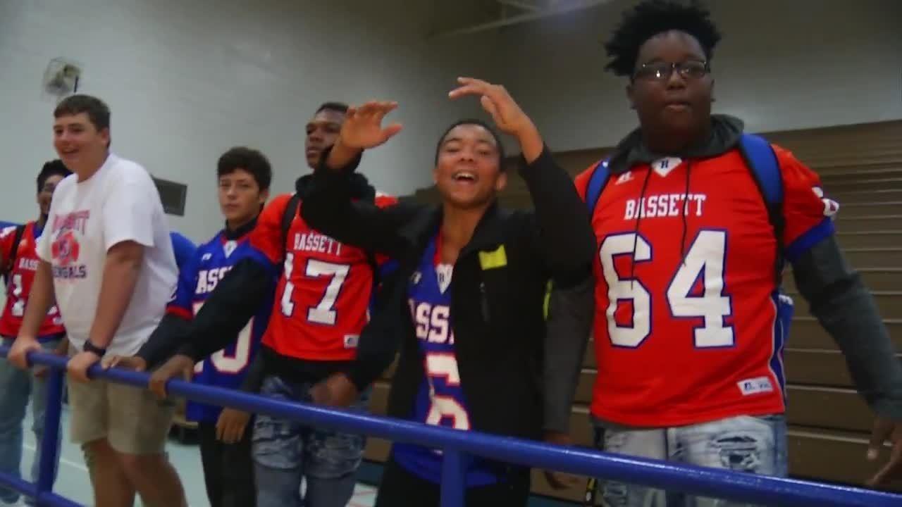 Bassett High School Fans Keep Football Traditions Alive