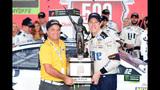 Keselowski races way into 3rd round of NASCAR's playoffs