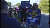 Salem Veterans Affairs employees rallied for better staffing at medical center