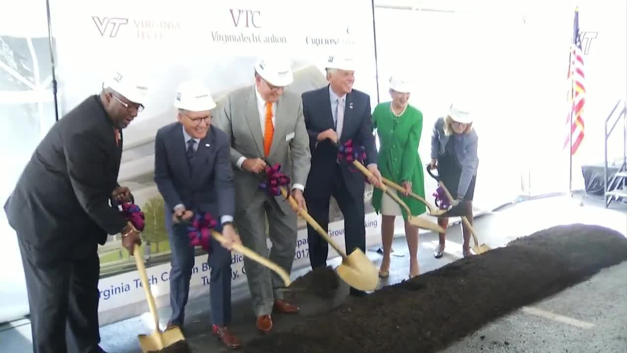 home security wiring diagram power supply virginia tech carilion breaks ground on multimillion-dollar... home security wiring service roanoke va #8