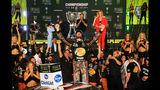 Martin Truex Jr. wins NASCAR Monster Energy Series season title, holding&hellip&#x3b;
