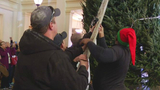 The Omni Homestead kicks off Christmas season with tree ceremony