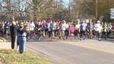 Dozens give thanks by going for a run in Martinsville