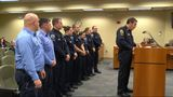 Local first responders who assisted with hurricane relief honored