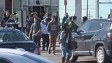 Galileo Magnet High School students walk out of school to promote peace, unity