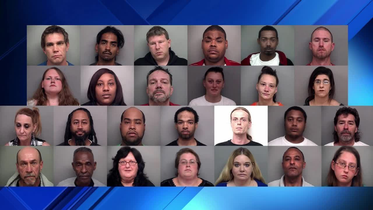 26 arrested in Henry County as part of undercover drug operation