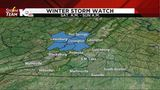 Winter Storm Watch issued for the weekend&#x3b; Pleasant end to the work week