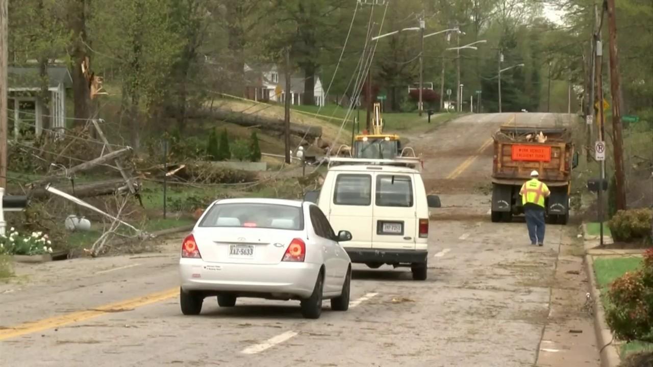 National Weather Service confirms EF1 tornado hit Pittsylvania...