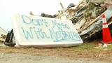 Tornado victims stand united in face of looters
