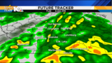 Wet morning commute&#x3b; Heavy rain washes out Tuesday