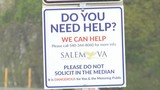 Signs to cut down on solicitation lead to hope in Salem