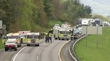 Two dead, two hospitalized after crash on Interstate 81