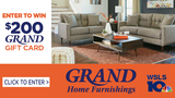 $200 Gift Card Giveaway from Grand Home Furnishings