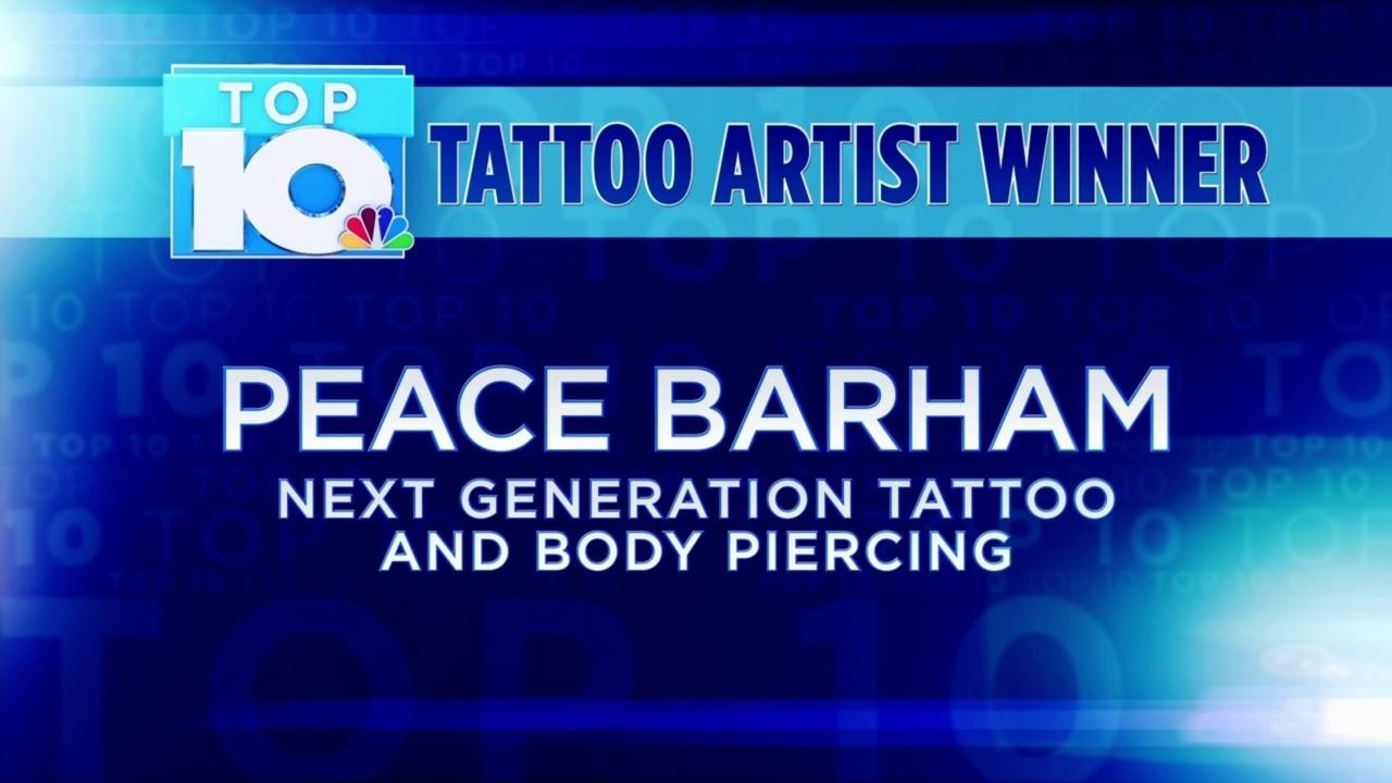 10 News Top 10 Tattoo Artist