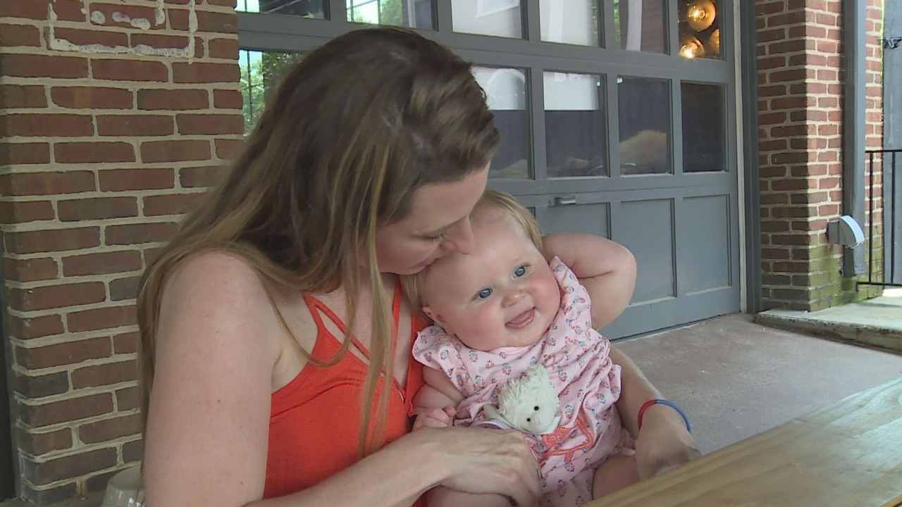 4416ca084c9e Video thumbnail for Mother of 7-month-old Danville girl rescued after Amber  Alert