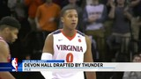 Former UVa guard Devon Hall drafted by OKC
