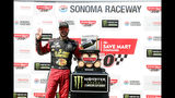 Road warrior: Truex tricks Harvick on track, conquers Sonoma