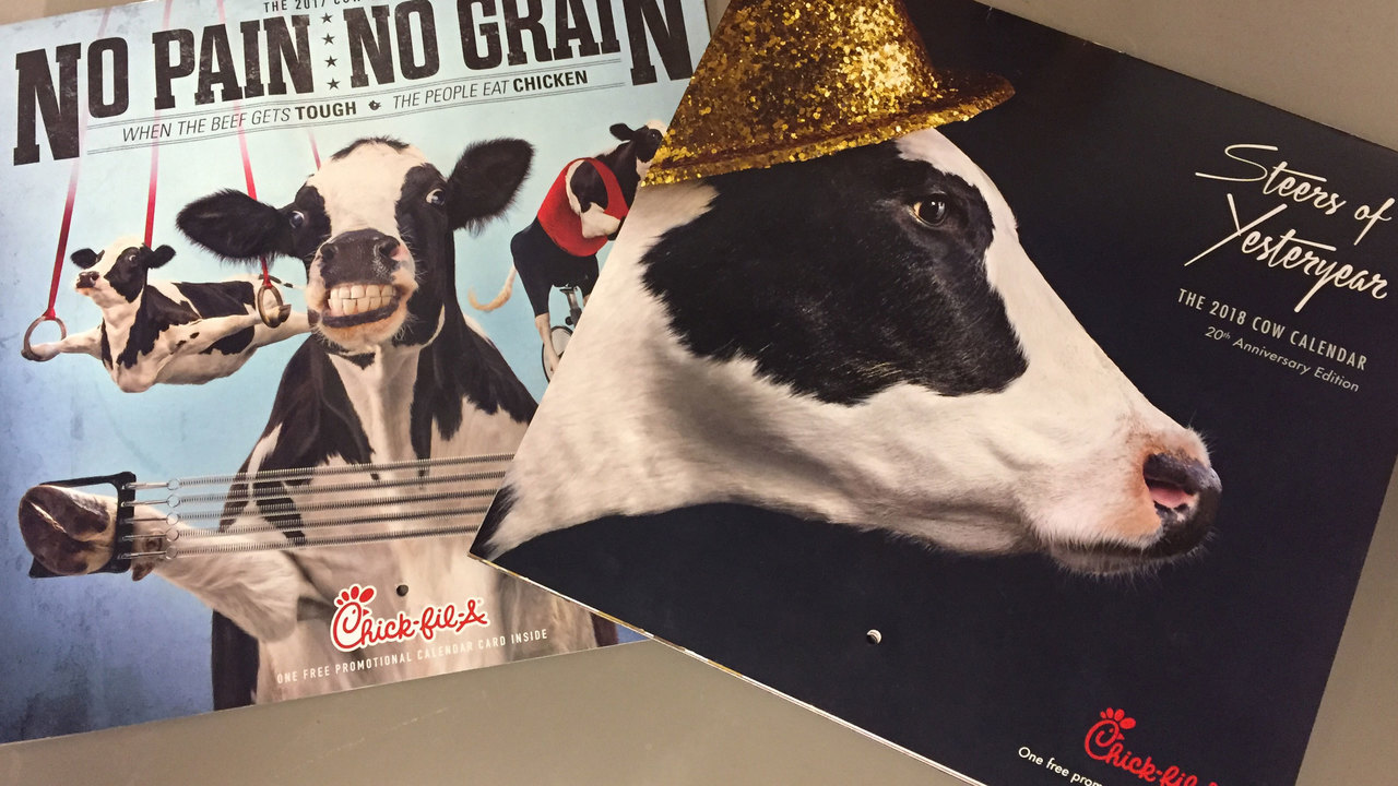 Chick-fil-A to stop publishing its annual Cow Calendar