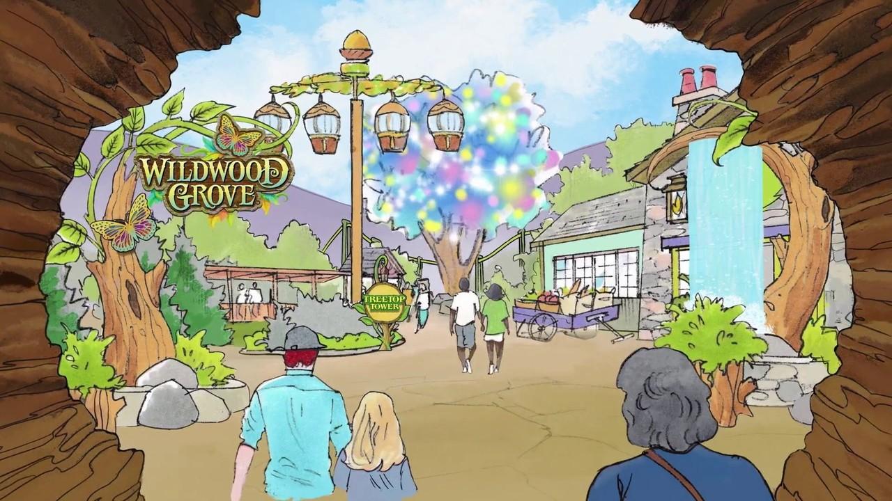 Dollywood announces $37 million expansion, Wildwood Grove,