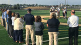 Christiansburg High School football team plays first game on new turf field