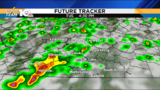 Thick fog early, chance for strong evening storms